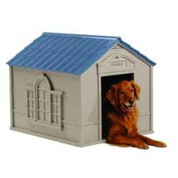 Suncast large dog house dh350
