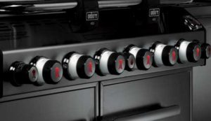 Weber Summit S-670 Lighted Knobs