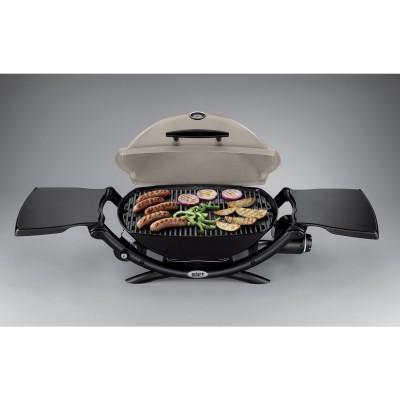 Weber Q2200 Open Grilling
