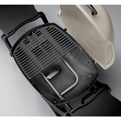 The Weber Q2200 Split Grill Surface