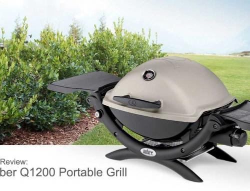 weber q 200 portable propane grill silver series. Black Bedroom Furniture Sets. Home Design Ideas