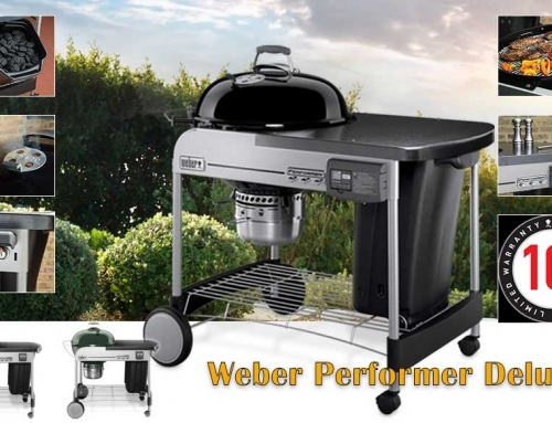 The Weber 15501001 Performer Deluxe Charcoal Grill Reviews