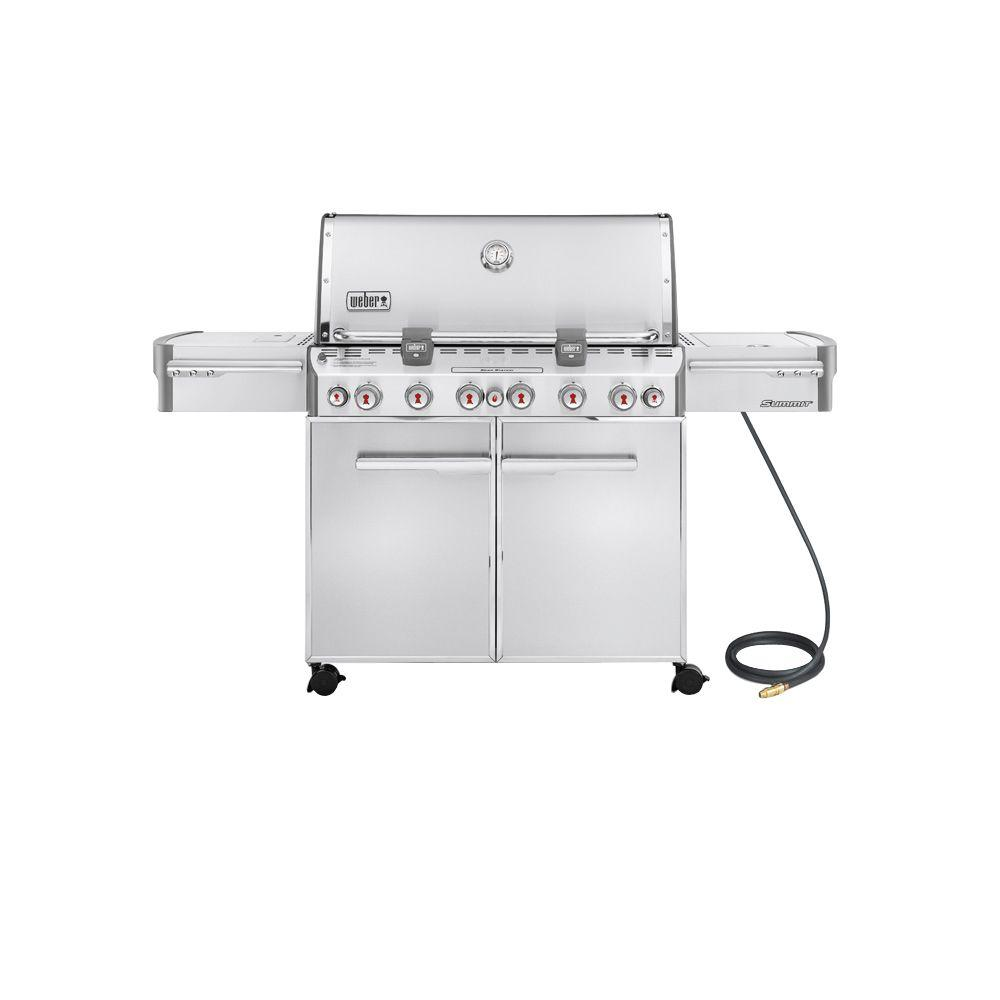 Weber Summit S-670 6-Burner Stainless Steel (Silver) Natural Gas Grill