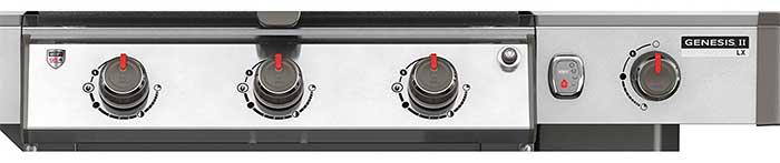 Genesis LX S-340 Front Control Panel