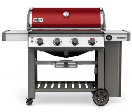 Weber Genesis E-410 Crimson