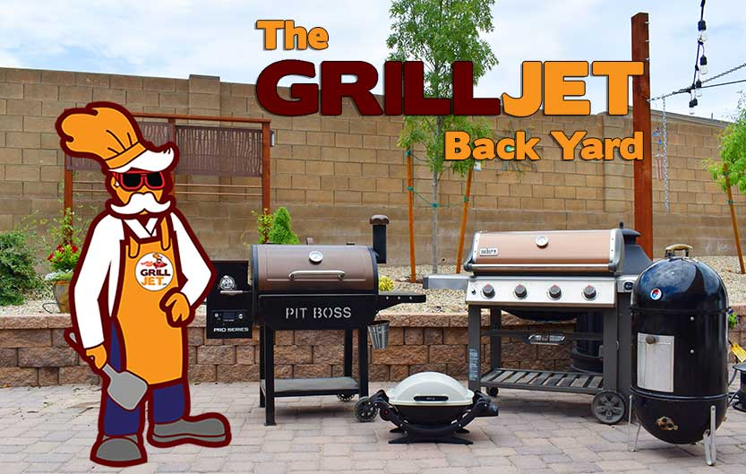The Grill Jet's back yard