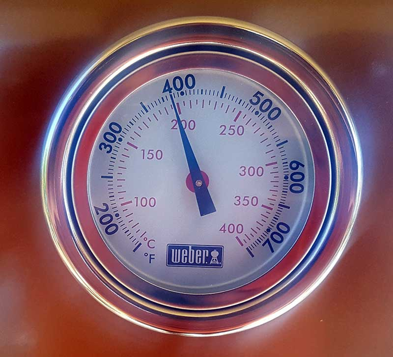Weber Genesis e-410 Thermometer